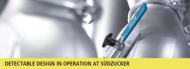 JACOB Detectable Design at Südzucker